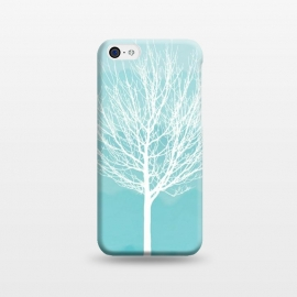 iPhone 5C  white tree by Jms