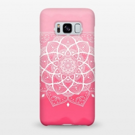 Galaxy S8+  Pink mandala by Jms