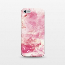 iPhone 5/5E/5s  Pink galaxy marble by Jms