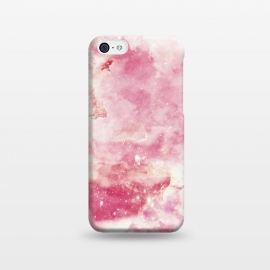 iPhone 5C  Pink galaxy marble by Jms