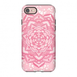 iPhone 8/7  Pink flower mandala by Jms