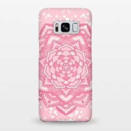 Galaxy S8+  Pink flower mandala by Jms