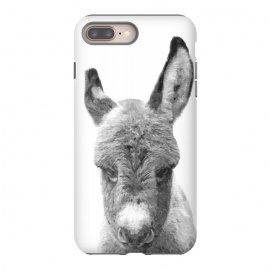 iPhone 8/7 plus  Black and White Baby Donkey by Alemi