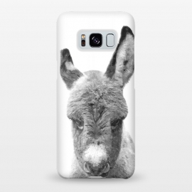 Galaxy S8+  Black and White Baby Donkey by Alemi