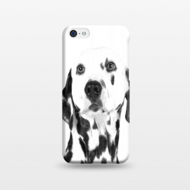 iPhone 5C  Black and White Dalmatian by Alemi
