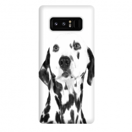 Galaxy Note 8  Black and White Dalmatian by
