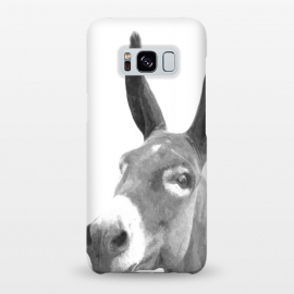 Galaxy S8+  Black and White Donkey by Alemi