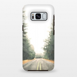Galaxy S8 plus  Road Illustration by