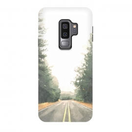 Galaxy S9 plus  Road Illustration by