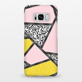 Galaxy S8+  Geometric pink black by Jms