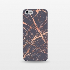 iPhone 5/5E/5s  Copper Splatter 001 by Jelena Obradovic