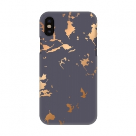 iPhone X  Golden Splatter 001 by Jelena Obradovic