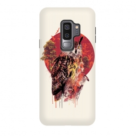 Galaxy S9+  Owl Red by Riza Peker