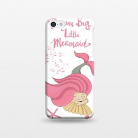 iPhone 5C  Dream big little mermaid by Utart