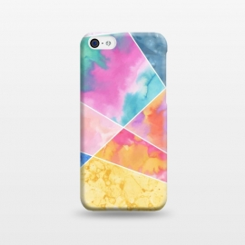 iPhone 5C  Watercolor Geometric by Creativeaxle