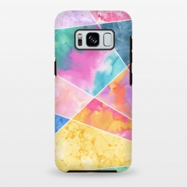 Galaxy S8+  Watercolor Geometric by Creativeaxle