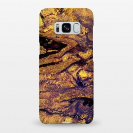 Galaxy S8+  2018/3 by Ashley Camille (paint,painting,swirls,swirly,gold,glitter,marble)