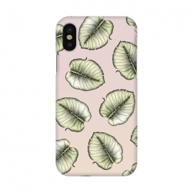 iPhone X  Monstera Love by Barlena