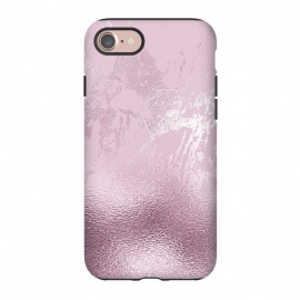 iPhone 8/7  Blush Marble and Glitter by Utart