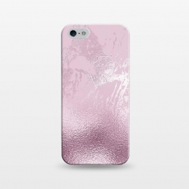 iPhone 5/5E/5s  Blush Marble and Glitter by Utart