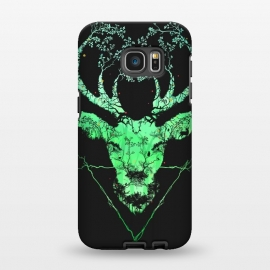 Galaxy S7 EDGE  Dark Forest Deer by Sitchko Igor