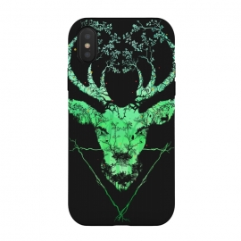 iPhone Xs / X  Dark Forest Deer by