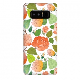 Galaxy Note 8  Roses by Bledi