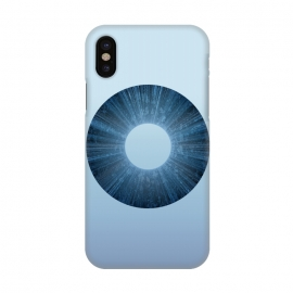 iPhone X  Blue Iris Object by Andrea Haase
