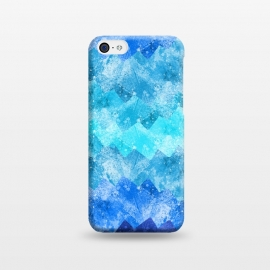 iPhone 5C  The blue sea waves by Steve Wade (Swade)