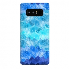 Galaxy Note 8  The blue sea waves by Steve Wade (Swade)