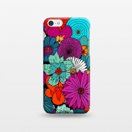 iPhone 5C  Bunch of flowers by Steve Wade (Swade)