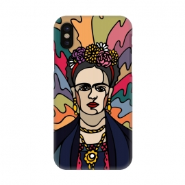 Frida Kahlo by Majoih