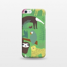 iPhone 5C  Jungle Friends by Sam Pernoski