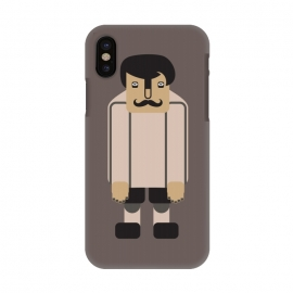 iPhone X  tall skinny man by TMSarts