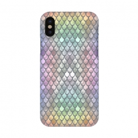 iPhone X  Pretty Mermaid Scales 26 by Angelika Parker