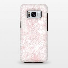 Galaxy S8 plus  Boho chic floral henna mandala image by