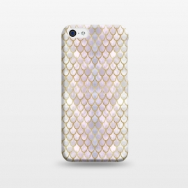 iPhone 5C  Pretty Mermaid Scales 40 by Angelika Parker