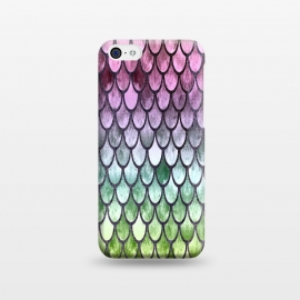 iPhone 5C  Pretty Mermaid Scales 119 by Angelika Parker