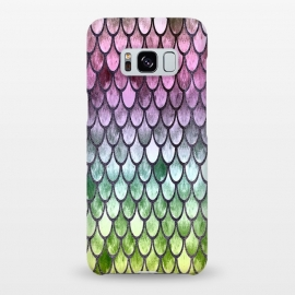 Galaxy S8+  Pretty Mermaid Scales 119 by Angelika Parker