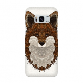 Galaxy S8  Red Fox by Angelika Parker