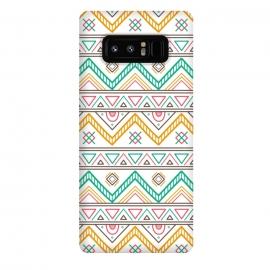 Galaxy Note 8  Geometric Multicolor Motifs 2 by