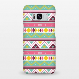 Galaxy S8+  Geometric Multicolor Motifs 3 by Bledi