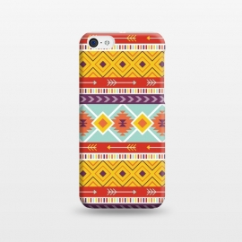 iPhone 5C  Geometric Multicolor Motifs 6 by Bledi