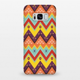 Galaxy S8+  Geometric Multicolor Motifs 8 by Bledi