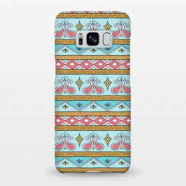 Galaxy S8+  Geometric Multicolor Motifs 9 by Bledi