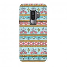 Galaxy S9 plus  Geometric Multicolor Motifs 9 by  (Geometric, motifs, Background, triangle, nature, vintage, must have, fashion, square, style, autumn, Multicolor, spring, summer, pattern, rhombus, excellent, home-decor, symetric, Pattern, beautiful, cool, mugs, photographic prints, samsung galaxy cases skins, scarves, spiral notebooks, stickers, st)