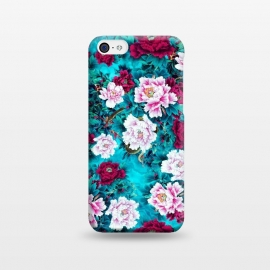 iPhone 5C  Peonies by Riza Peker