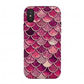 Pink and Purple Pretty Sparkling Mermaid Scales  by Utart