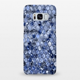 Ocean Blue Glamour Mermaid Scales by Utart