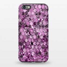 iPhone 6/6s plus  Purple and Violet Trendy Shine Mermaid Scales by Utart